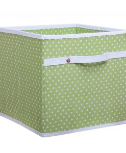 green_dotty_storage_box