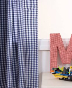 navy-gingham-curtains