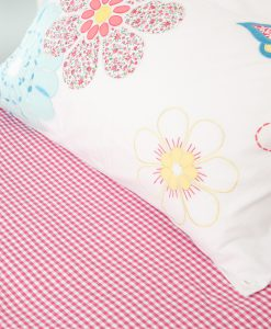 pink_gingham_fitted_sheet