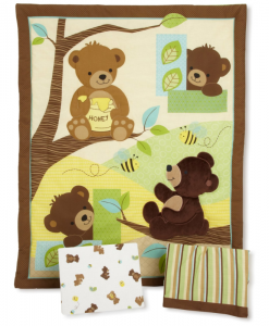 bigThumb_Honey_Bear_3-Piece_Bedding_Set